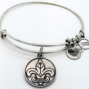 Alex and Ani Alex and Ani Fleur De Lis EWB RS