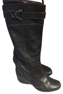 Circa Joan & David Leather black Boots