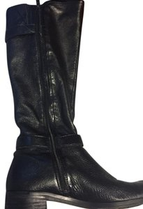 Circa Joan & David Leather Riding black Boots