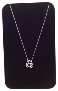 925 Sterling Silver Necklace With Bear Pendant
