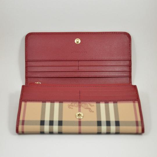 Burberry HOLD FOR HELLO New Haymarket Penrose Continental Wallet