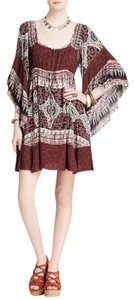 Free People short dress PLUM Heart Of Gold on Tradesy