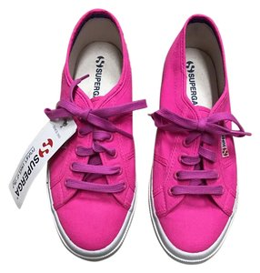 Superga Sneaker Canvas Neon Pink Athletic
