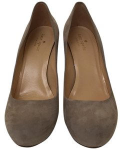 Kate Spade Grey Suede Pumps