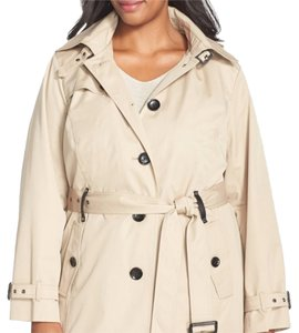 MICHAEL Michael Kors Plus-size Trench Trench Coat