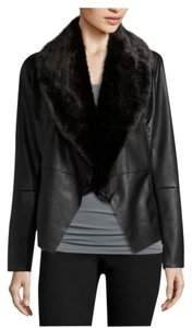 Faux Fur Jacket Leather Jacket