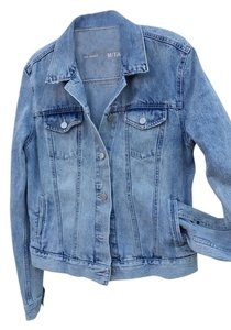Gap Wash Denim Classic Acid light blue Womens Jean Jacket