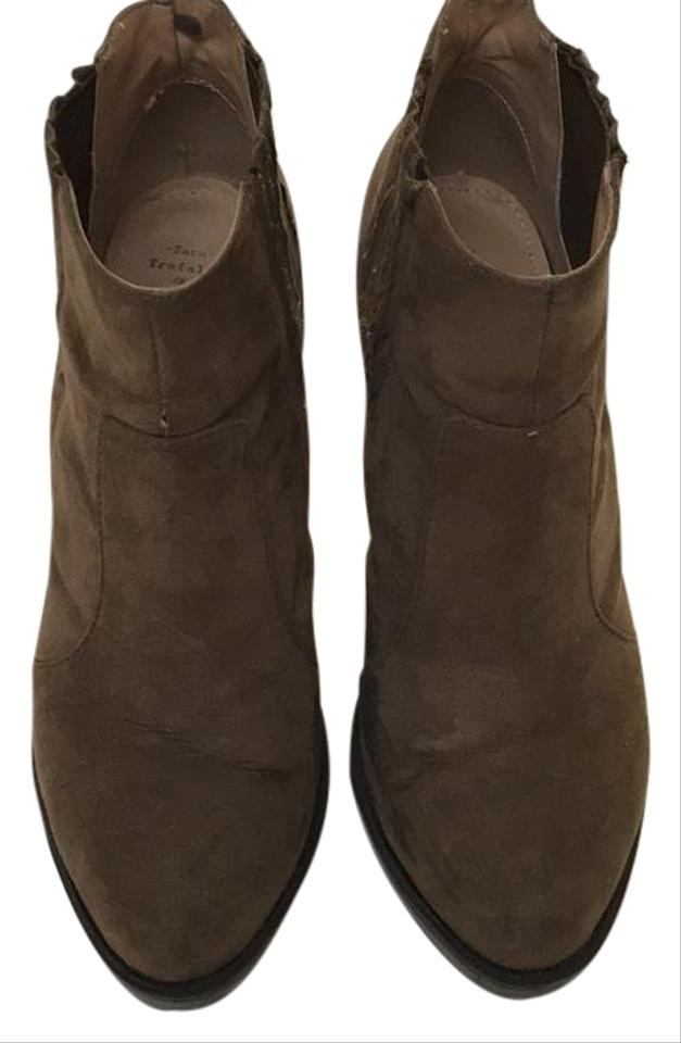425991f0 Trafaluc Taupe Zara Collection Boots/Booties Size US 10 Regular (M ...