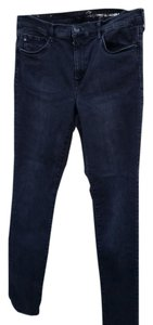 H&M Stretchy Fitted Skinny Jeans-Dark Rinse