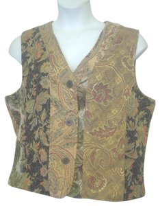 Chico's Tapestry Vest Cardigan