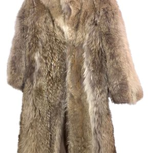 Coyote Fur Fur Coat