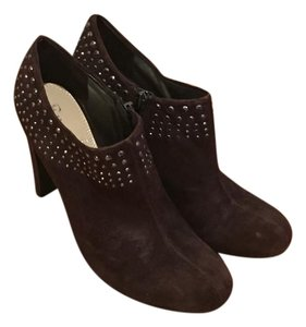 Enzo Angiolini Brown Suede Boots