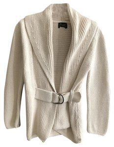 Pure Collection Belted Knit Cardigan