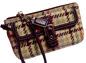 Coach Classic Hard-to-find Wristlet in Multi-color