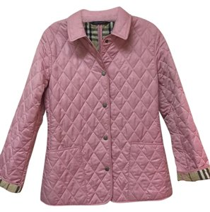 Burberry Quilted Pea Coat