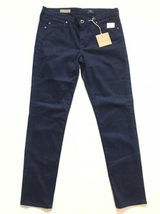 AG Adriano Goldschmied Straight Pants Navy