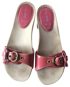 Miu Miu Dusty Rose Sandals