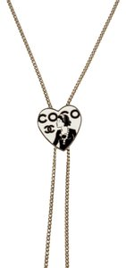 Chanel Chanel heart lariat necklace