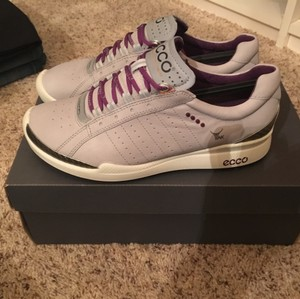 Ecco Gray with purple accents Athletic