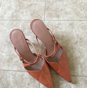 Anne Klein Orange Pumps