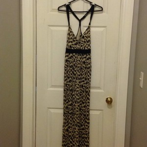 Brown Maxi Dress by Banana Republic