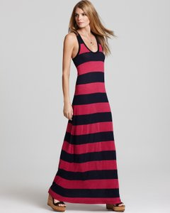 Rasperry Maxi Dress by Joie Striped Maxi Maxi Cotton Maxi Maxi Soft