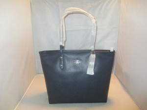 Coach Next Day Shipping Tote in Midnight