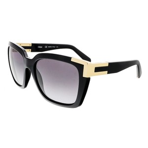 Chloé Chloe Black Oversized Square Chloe sunglasses