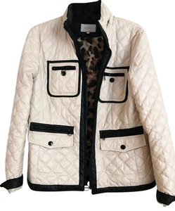 Laundry by Shelli Segal cream and black Jacket