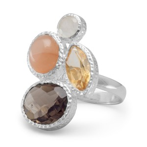 Other 4 Stone Citrine Ring
