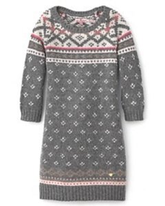 Juicy Couture short dress Gray/ Multi Sweater Chunky Tunic on Tradesy