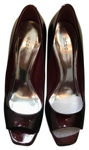 BCBGeneration Ruby Red Pumps