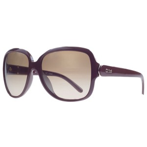 Chloé Chloe Bordeaux Square Sunglasses