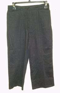 Tribal Capri/Cropped Pants Black