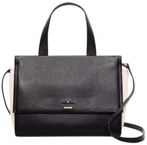 Kate Spade New York Satchel in Black / Soft Rosette