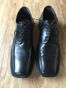 ALDO Comfortable Very Fashionable BLACK Leather Formal