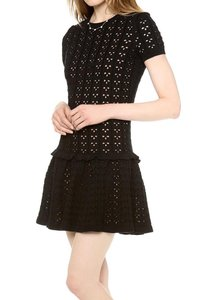 RED Valentino Valentino Knit Short Sweater Dress