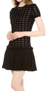 RED Valentino Knit Short Sweater Dress