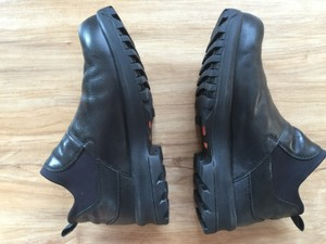 Nike Slip-on Ankle Black Black Leather Boots