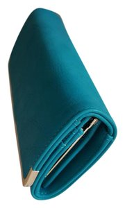 Charming Charlie Wallet teal Clutch