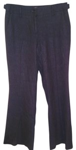 Ann Taylor LOFT Trouser Pants Charcoal Gray