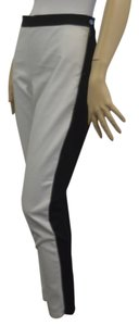 Banana Republic Straight Pants White/Black