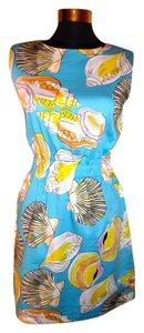 Tracy Negoshian short dress Multi-Color on Tradesy