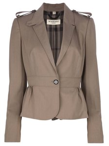 Burberry London Taupe Blazer