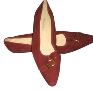Etienne Aigner maroon Flats