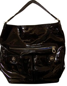 Marc Jacobs Patent Leather Extra Large Marc By Hobo Bag