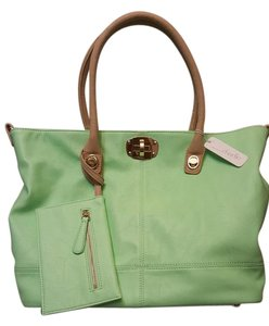 Charming Charlie Tote in green
