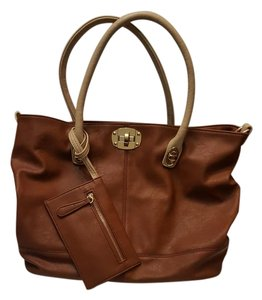 Charming Charlie Tote in brown