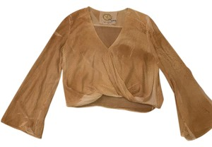 Blue Life Top Taupe