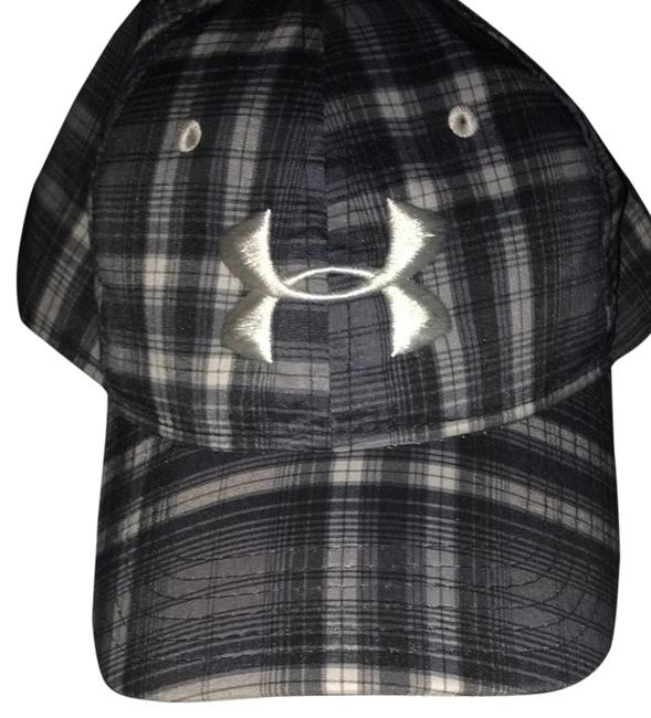 Item - Blake Gray & White Plaid Hat